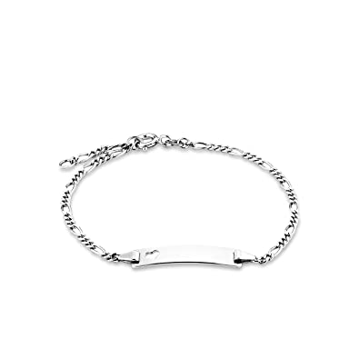 amor Damen-Armband Identarmband 18,5cm gravierbar 925 Silber rhodiniert   Amazon.de  Schmuck 991475ae49
