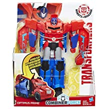Transformers Robots in Disguise Combiner Force 3-Step Changer Optimus Prime Figure