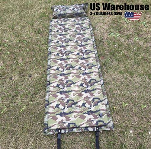 183x57x2.5cm Self Inflatable Air Mattress Camping Moisture P