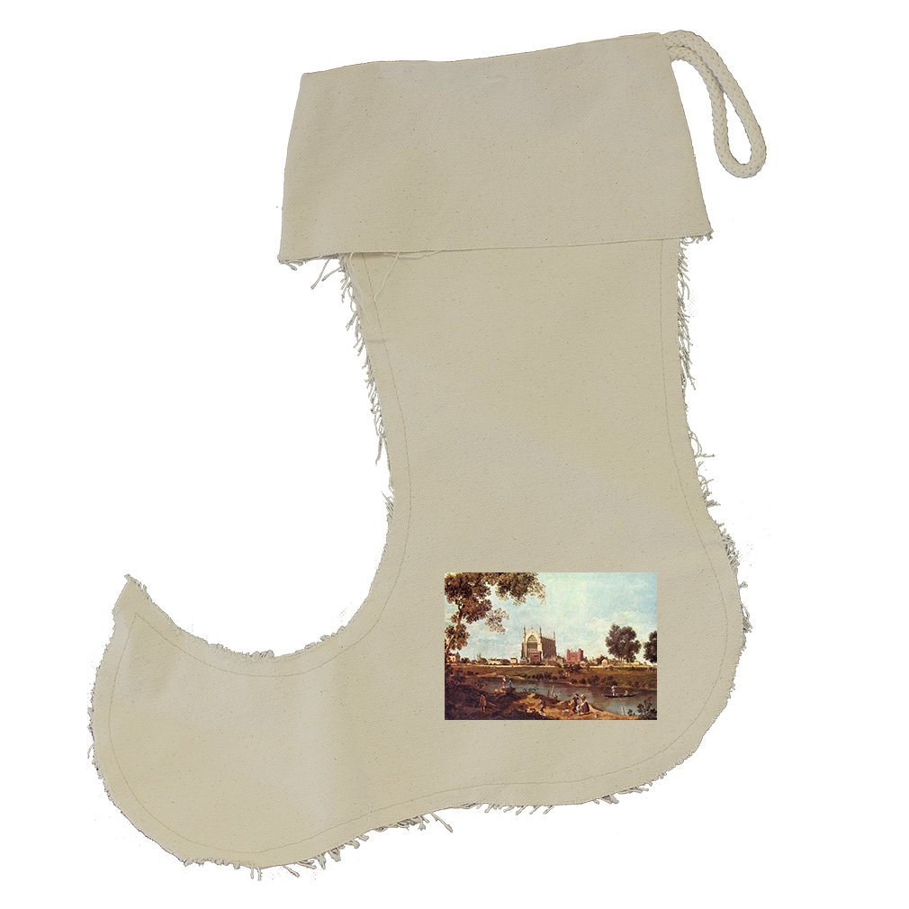 Eton College (Canaletto) Cotton Canvas Stocking Jester - Small