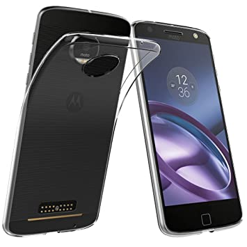 ELTD Moto Z Play Funda, Slim TPU Series funda carcasa case ...