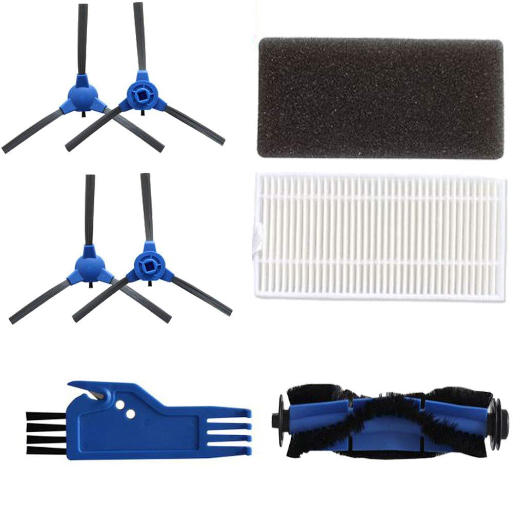 Side Brush Roller Filter Replacement Accessories Set For Eufy RoboVac11S Sweeper