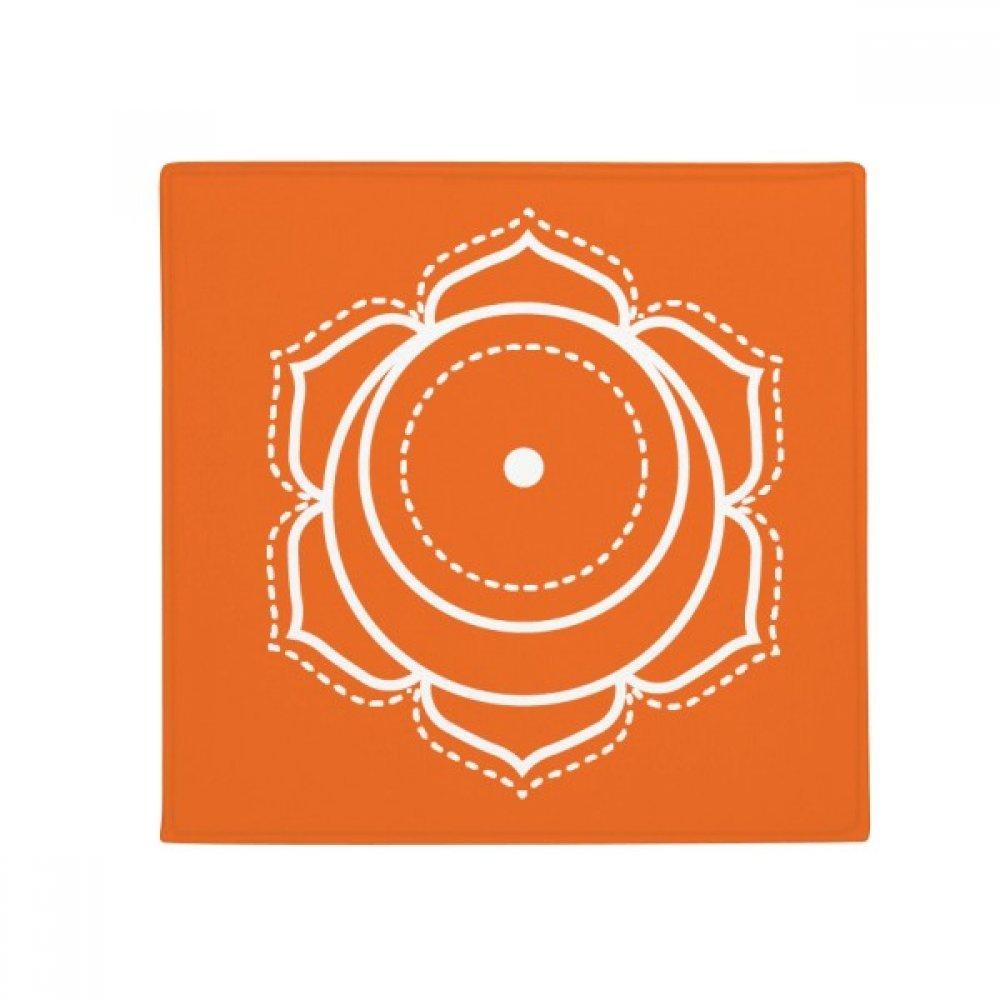 DIYthinker Totem Pattern Circle Symbol Flower Anti-Slip Floor Pet Mat Square Home Kitchen Door 80Cm Gift