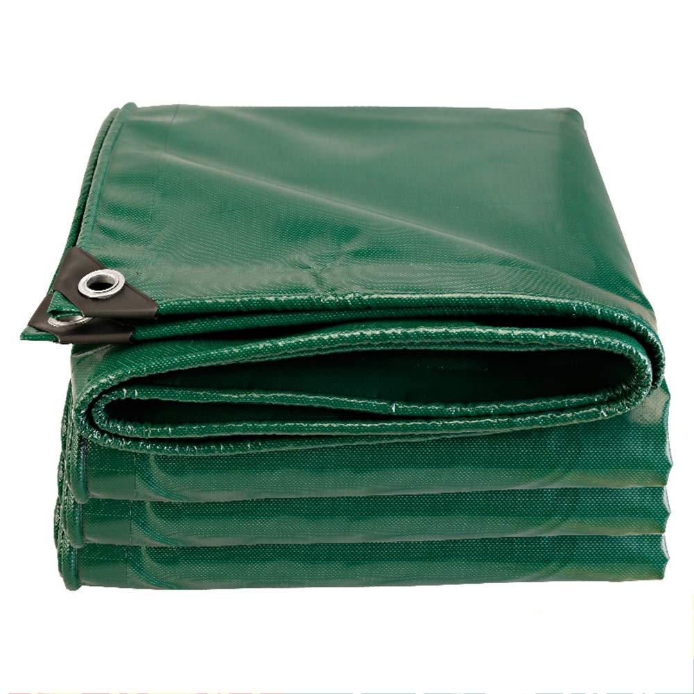 LIXIONG オーニング屋外の 日焼け止め 防水シート 保存料 折りやすい 防雨布、 19サイズ カスタマイズ可能 (色 : 緑, サイズ さいず : 5.8x5.8m) 5.8x5.8m 緑 B07Q7NKPJ8