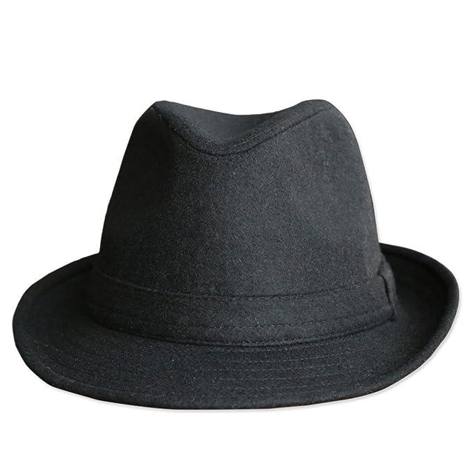 Cappello da Uomo Autunno E Inverno di Spessore Berretto di Tweed di Lana  Berretto Corsa Esterna 957fc80f079f