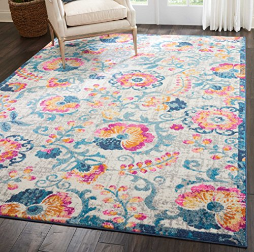 """Nourison Passion Area Rug, 5'3"""" X7'3, Ivory from Nourison"""