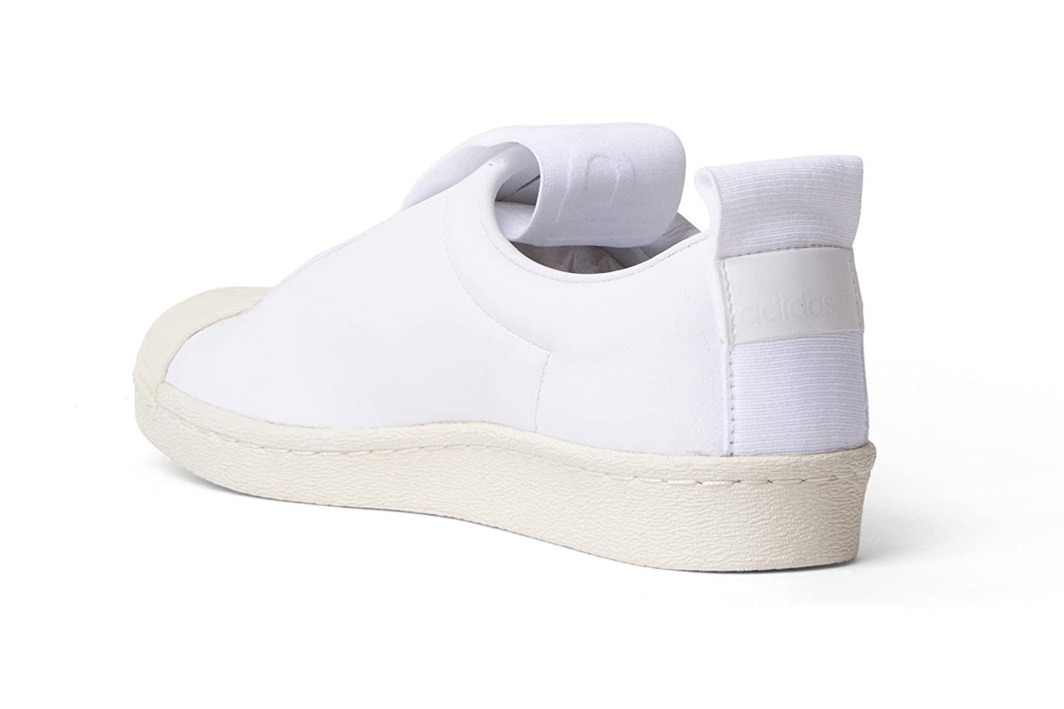Amazon.com | adidas Originals Womens Superstar BW Slip-on Shoes BY9139, Size 7 | Fashion Sneakers