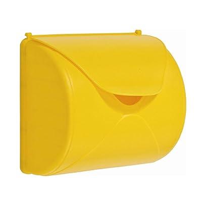 Boîte aux lettres pour enfant Boîte aux lettres de jeu - Couleur : jaune