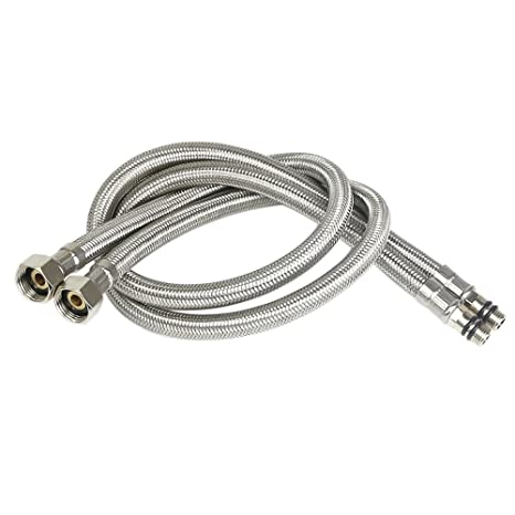 MINGOR Water Supply Line Braided Faucet Connector 3/8