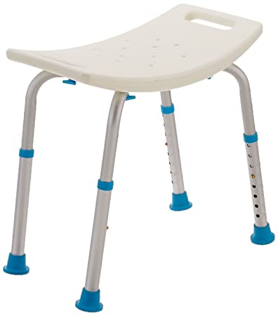 Buy AquaSense Adjustable Bath and Shower Chair with Non-Slip Seat ...