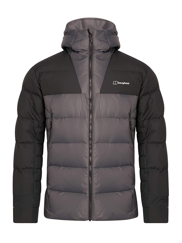 Grey Pinstripe Jet Black 3X-Large Berghaus Men's Ronnas Reflect Down Jacket