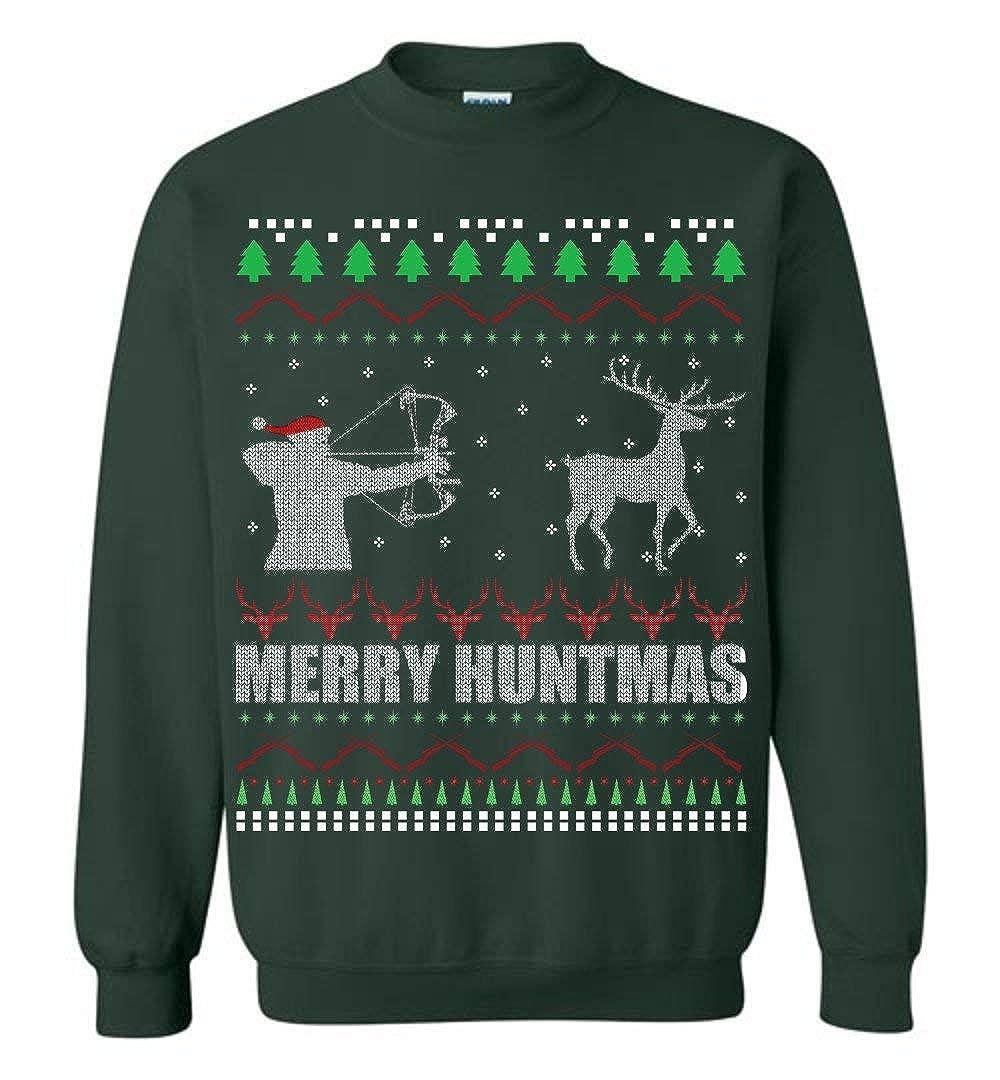Merry Huntmas Deer Hunting Christmas Ugly