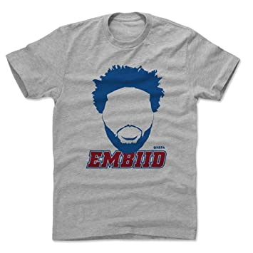 500 LEVEL Joel Embiid Shirt - Philadelphia Basketball - Ropa para hombre - Joel Embiid Silhouette