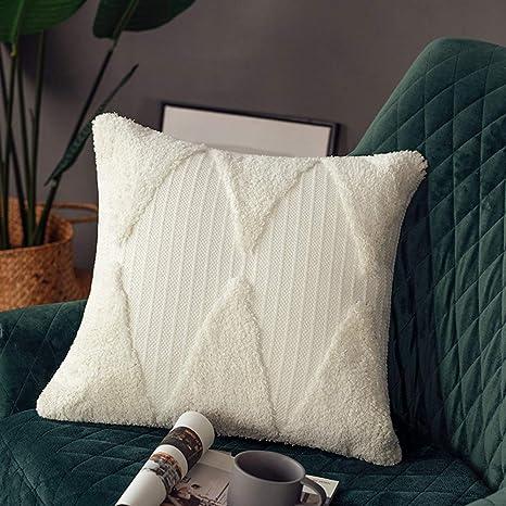 Embroidery Cushion Cover European Throw Pillow Case Vintage Sofa Home Decor Soft