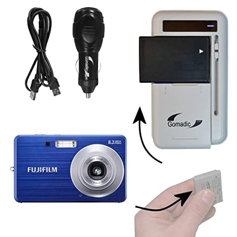amazon com battery charger kit compatible with fujifilm finepix rh amazon com fujifilm finepix j20 manual fuji finepix j12 manual