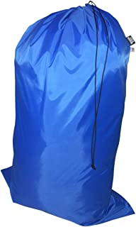 product image for Laundry Bag Heavy Duty Jumbo Sized Nylon Holds Approximately 40 lb Made in USA. (Blue)