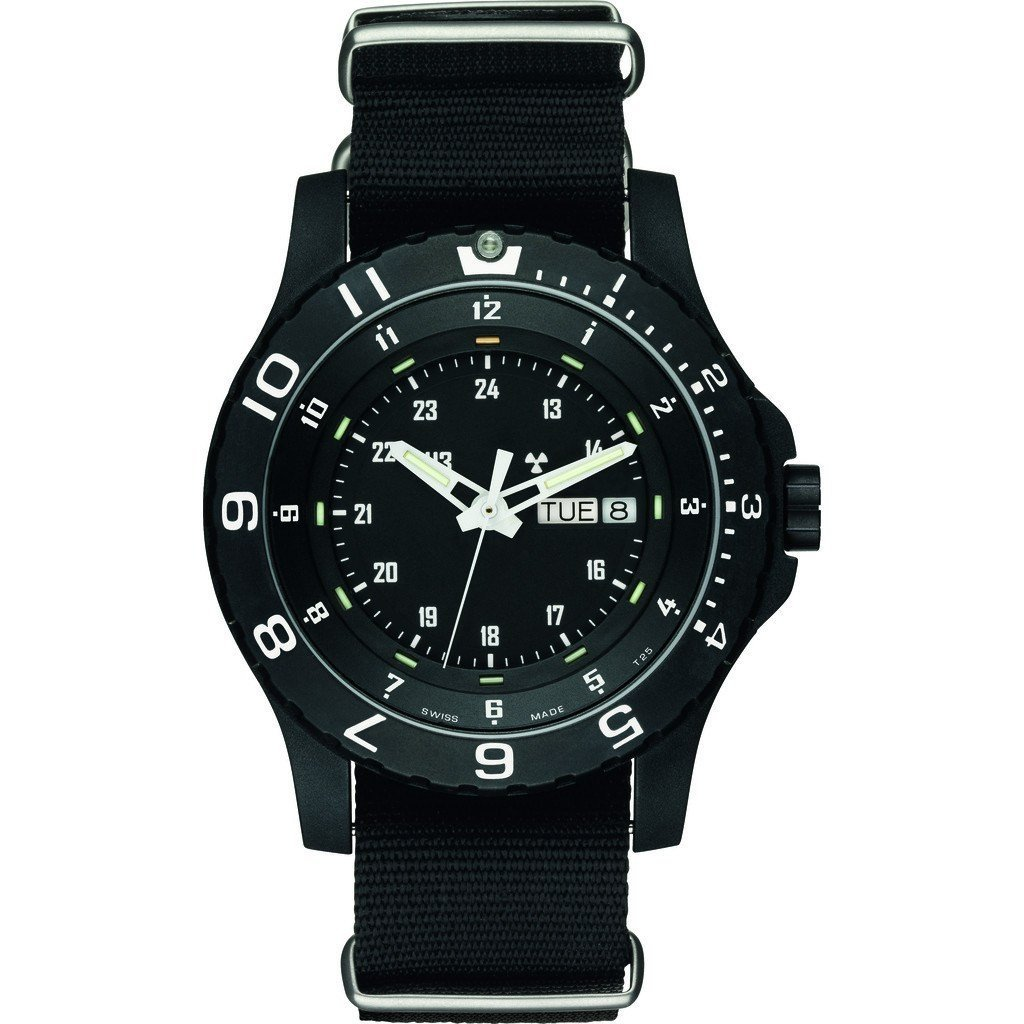 traser H3 Military P6600 Type 6 Mil-G Sapphire Watch | Nato Strap - Black