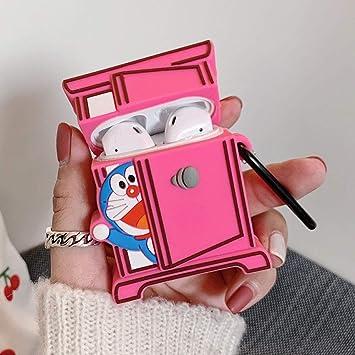 Libreetie Airpods 3 Funda Protectora, Anime Naruto Dragon Ball Doraemon 3D Cute Cartoon Silicona Estuche de Almacenamiento a Prueba de Golpes Funda Protectora de Carga Doraemon Style1: Amazon.es: Electrónica