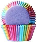 TaoNaisi 100pcs Caisses en papier Doublures Moules à Muffin en Silicone Réutilisables Anti-adhésif pour Cupcake Gâteau Décoration