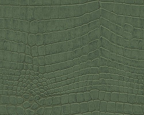 51157504 - Serenity Crocodile Skin Bottle Green Galerie Wallpaper ()