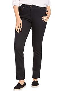 2b400306ce2 Woman Within Women s Plus Size Petite Bootcut Stretch Jean at Amazon ...