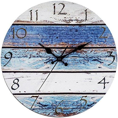 Cheap  Bernhard Products Rustic Beach Wall Clock 12
