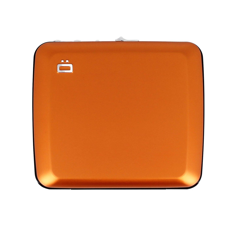 Ögon Aluminio misi Seguro Cartera y monederos Tarjetero Seguridad RFID en Naranja: Amazon.es: Equipaje