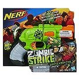 Nerf Zombie Doublestrike Blaster Gun