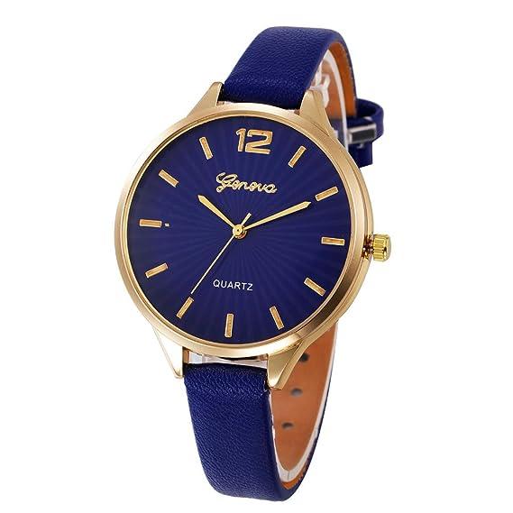Darringls_Reloj Geneva,Reloje Hombres Mujer Reloj Deportivo Reloj de ...