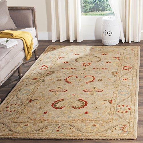 Safavieh Anatolia Collection AN570A Handmade Traditional Oriental Beige Wool Area Rug (4' x 6')