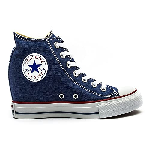e008a3af7c8e Converse - Converse All Star Ct Lux Mid Navy Sport Shoes Blue Material  547199C - Blue