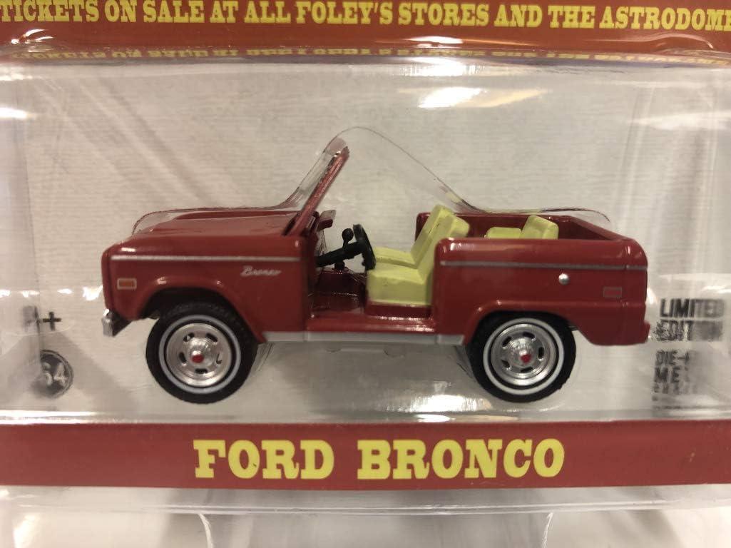 GreenLight 1//64 Elvis Presley - Ford Bronco 1974 Houston Livestock Show and Rodeo Houston Astrodome 29984 1935-77