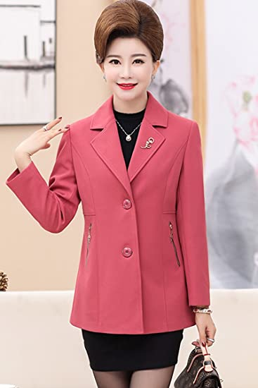 Amazon The New Middle Aged Mother Dress Coat Womens 30 Year