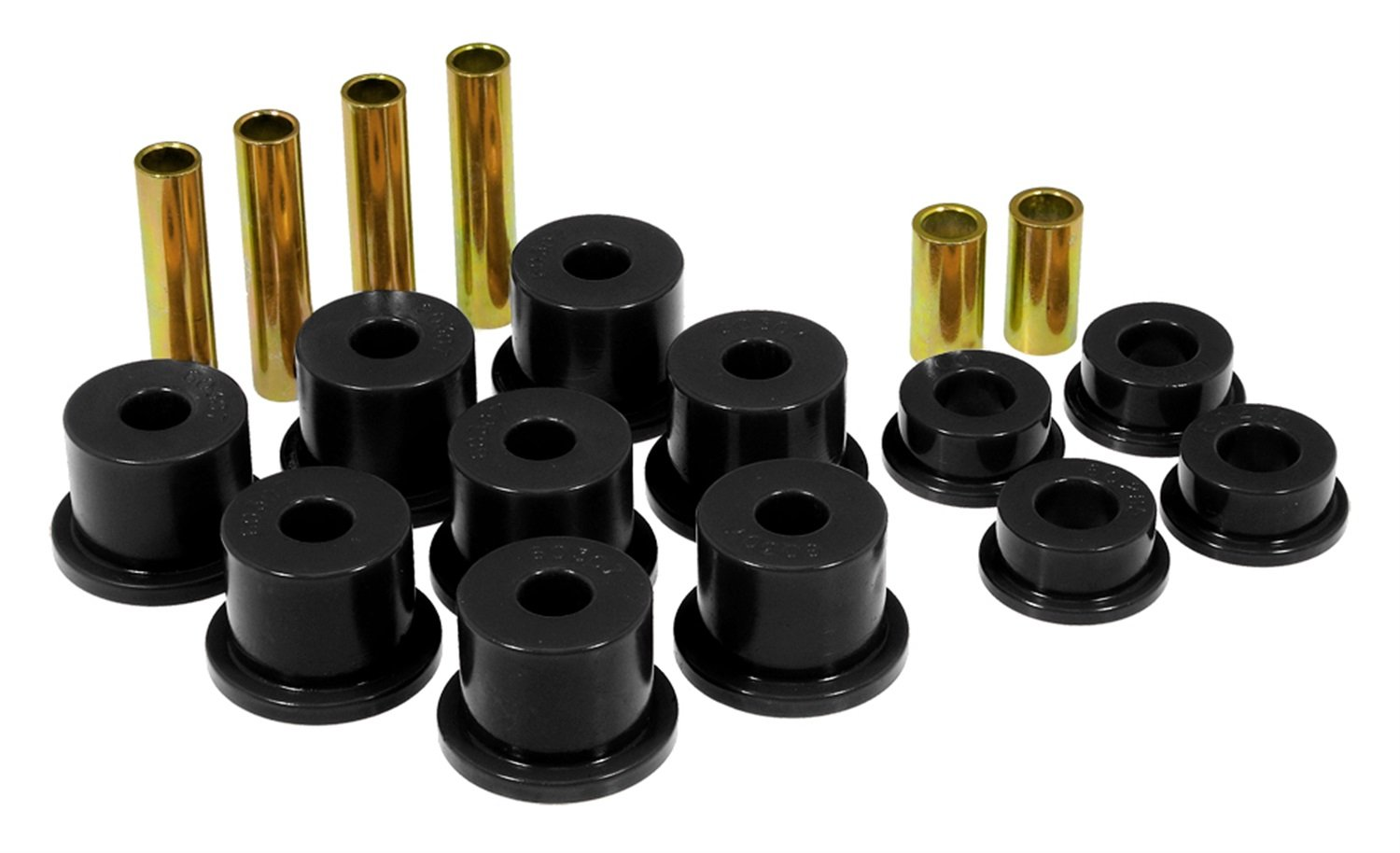 Prothane 6-1012-BL Black Front Spring Eye and Shackle Bushing Kit