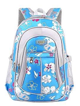 ... Mochilas Infantiles Instituto Backpack Mujer Chicas Escolar Bolsos Mochila Vuelta Al Cole Bolso Carteras para El Colegio Azul S: Amazon.es: Equipaje