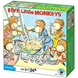 Five Little Monkeys Birthday Cake Puzzle: 24 pcs