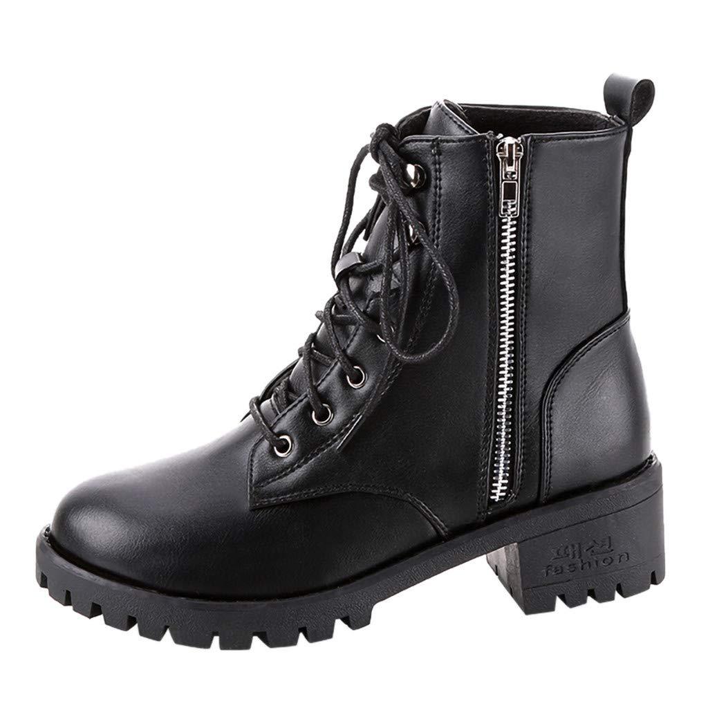 Women's Vintage Leather Boots Ladies