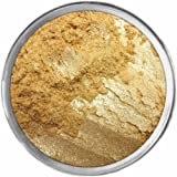 24k Gold Loose Powder Mineral Shimmer Multi Use Eyes Face Color Makeup Bare Earth Pigment Minerals Make Up Cosmetics By M*A*D Minerals Cruelty Free - 10 Gram Sized Sifter Jar