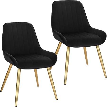 Poltroncina da sala pranzo soggiorno sedia da scrivania con schienale poltrona in velluto gambe color oro LCNI73006-2