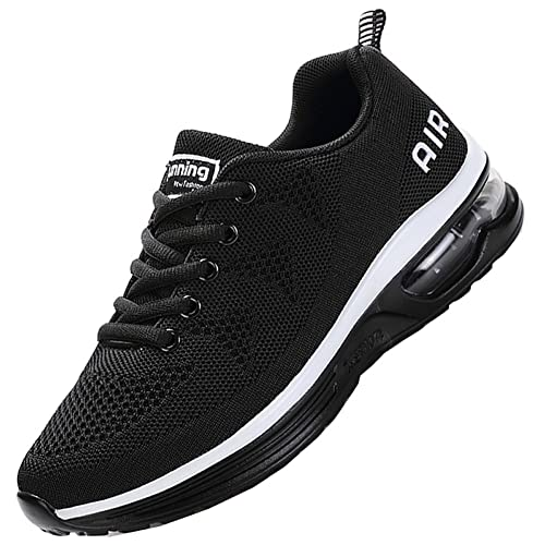 JARLIF Men s Lightweight Athletic Running Shoes Breathable Sport Air Fitness Gym Jogging Sneakers US6.5-12