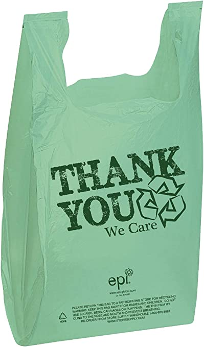 Bolsas de agradecimiento (EPI bolsas de plástico para camisetas ...