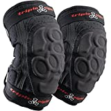 Triple Eight ExoSkin Elbow Pad (Black, Large)