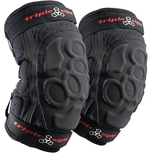 Triple Eight ExoSkin Elbow Pad (Black, Medium)