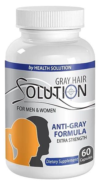 Amazon.com: Vitamina B6 – Pelo – Gray Cabello Solución para ...