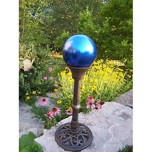 Oakland Living Gazing Ball, Blue by Oakland Living (Image #1)