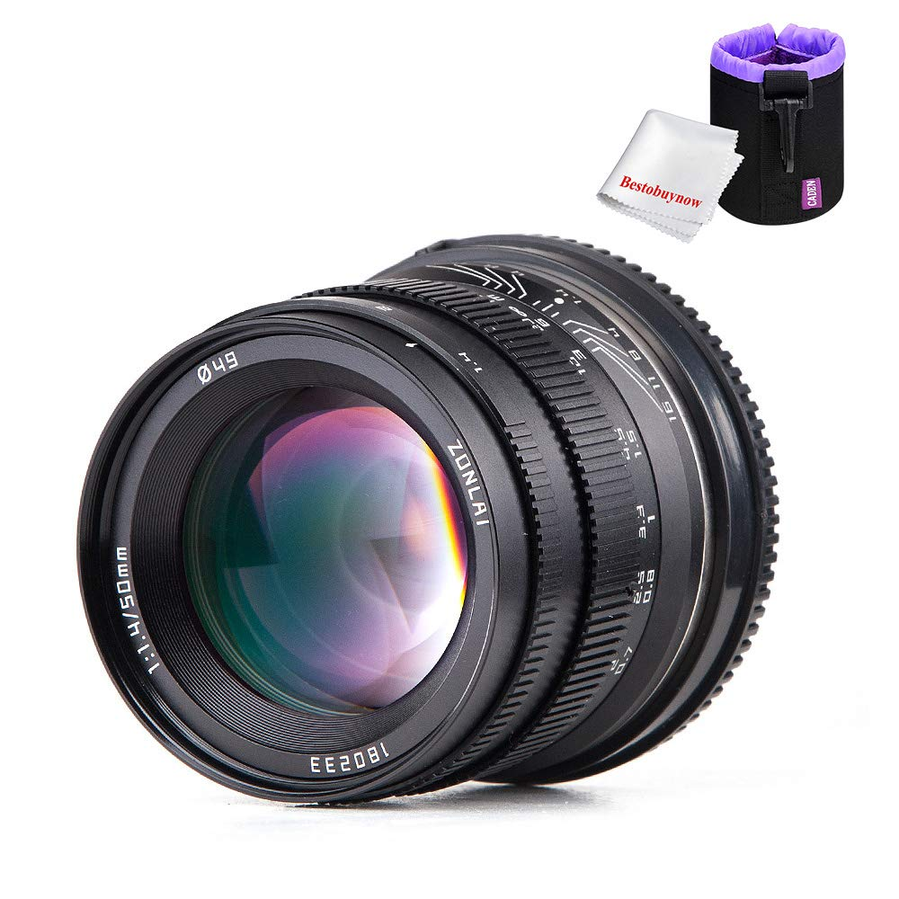 Zonlai 50mm 50mm f1.4 大口径ズームレンズ APS-C M4 APS-C/3マウントミラーレスカメラ Olympus Zonlai/パナソニック用 B07GQM4VZC, MIDLAND SHIP:59b2b283 --- ijpba.info