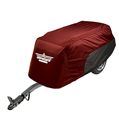 UltraGard 4-491AB Cranberry/Black Trailer Cover: Automotive