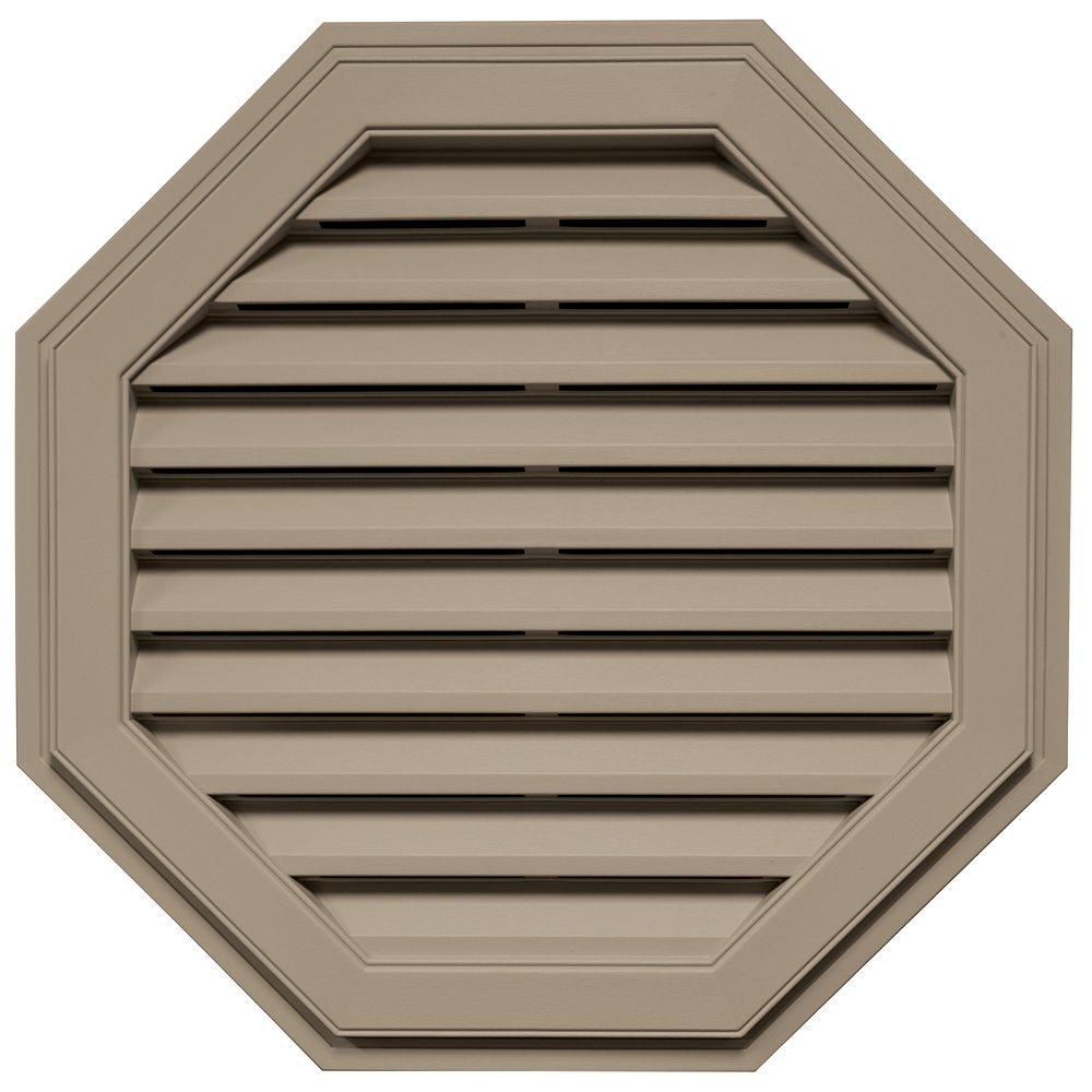 Builders Edge 120013232095 32'' Octagon Vent 095, Clay