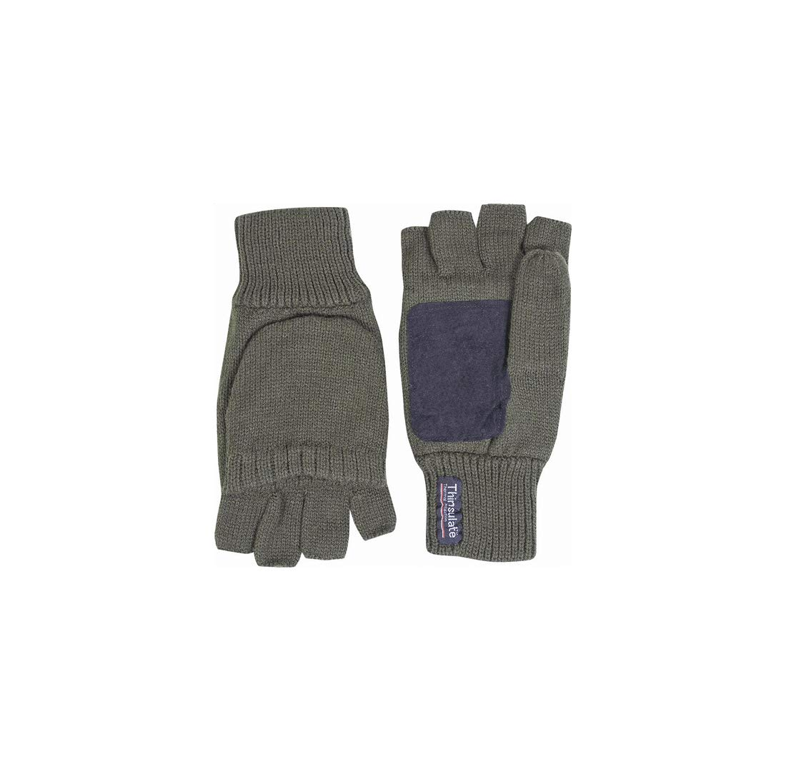 JACK PYKE Thinsulate Winter Gloves Olive Green