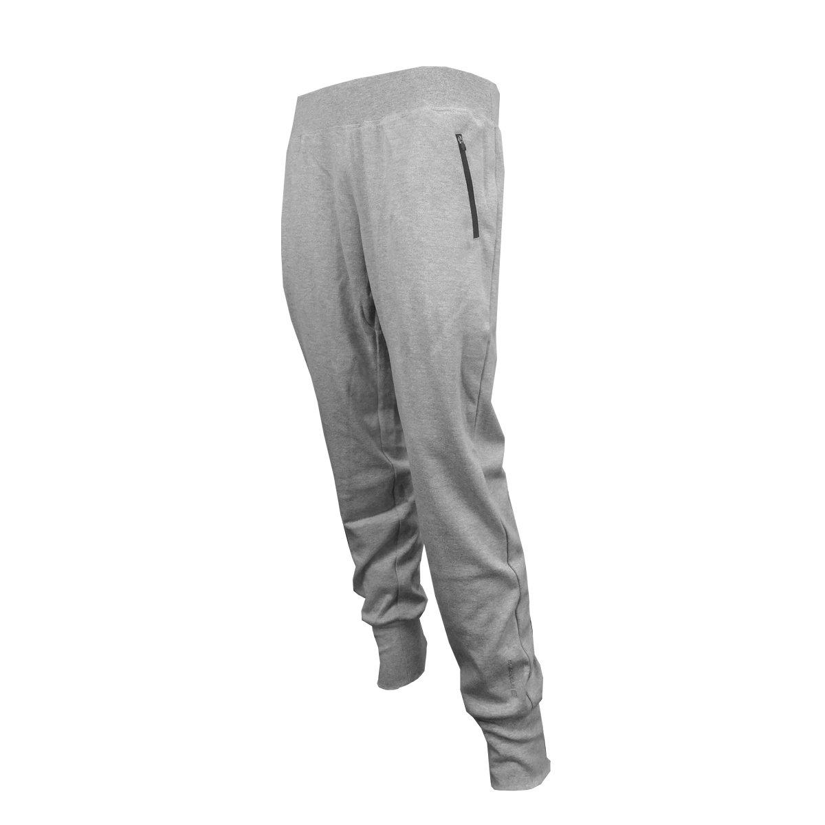 Saller Fiel–Pantalón de forro polar, color: 021Grey; tamaño: 40